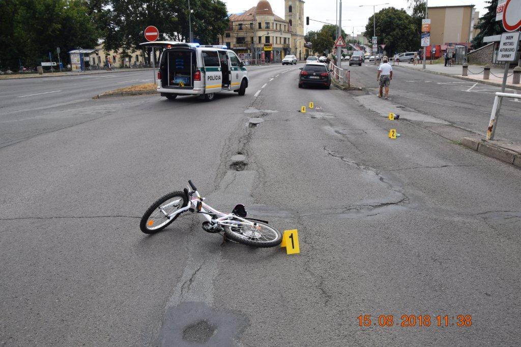 MICHALOVCE:  Pri dopravnej nehode prišla o život 6-ročná cyklistka
