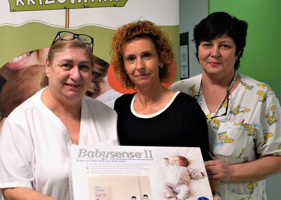 Michalovská nemocnica dostala pre novorodencov monitory dychu