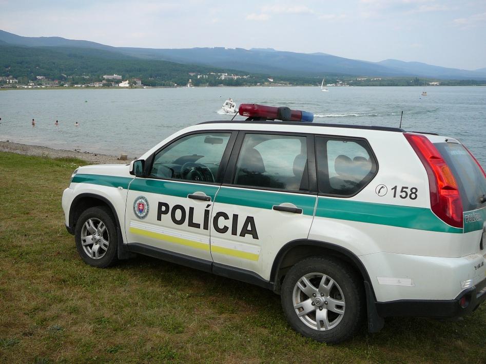 Šírava: Polícia radí ako sa vyhnúť nepríjemným situáciam počas dovolenky
