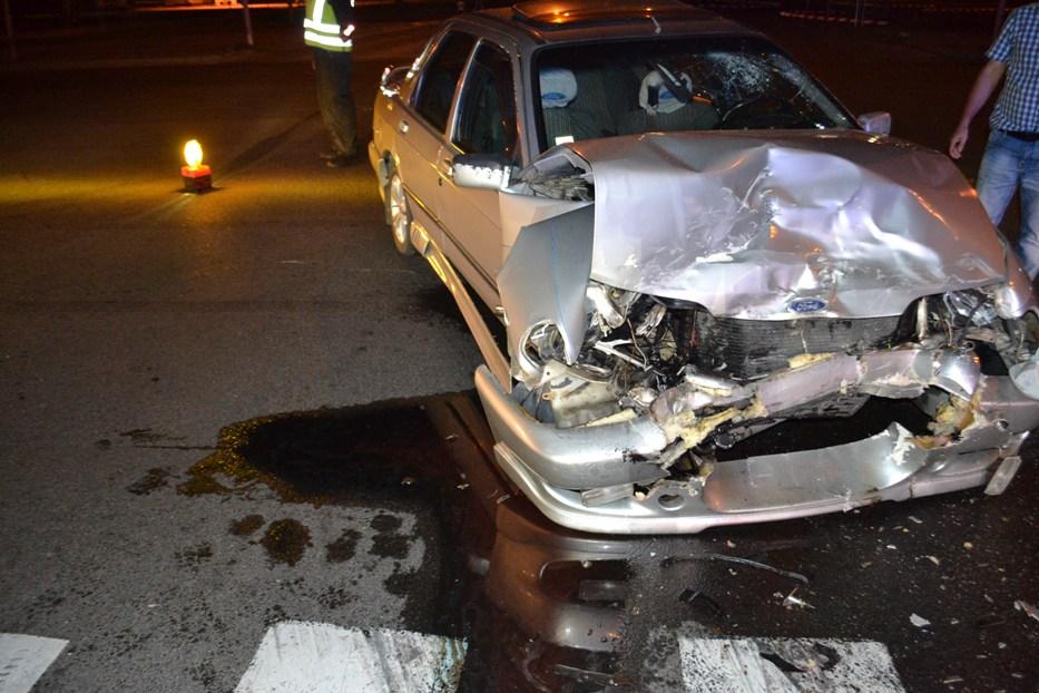 MICHALOVCE: Hrozivá zrážka dvoch áut priamo v meste